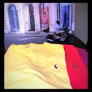 3 Polo by Ralph Lauren T shirts 2xl fits all